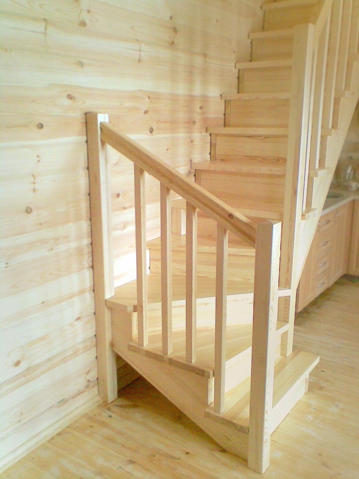 Монтаж и изготовление лестниц