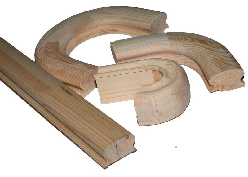 Балясины из бука, буковые балясины, деревянные балясины