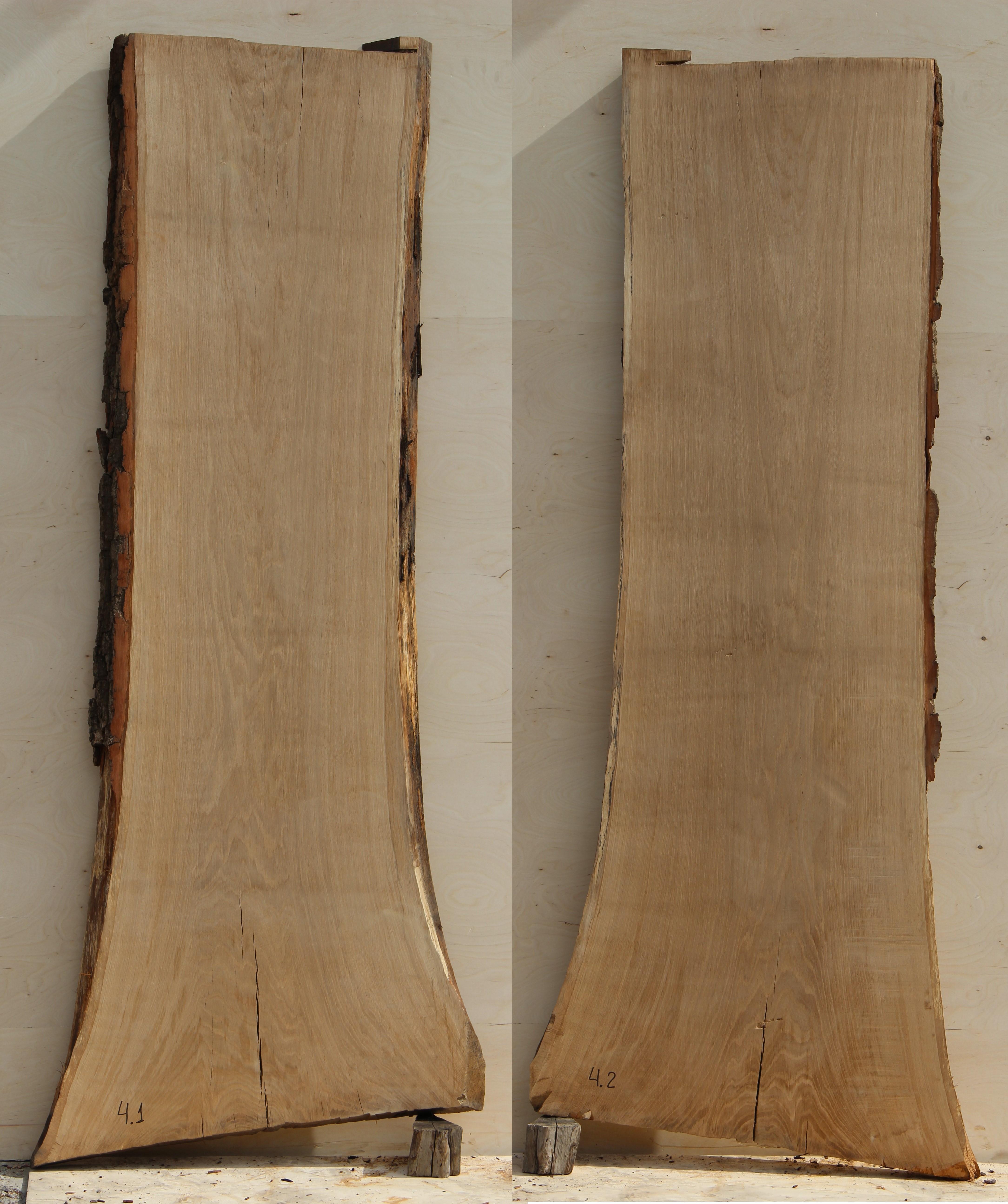 Слэбы (спилы) из Кавказского дуба под заказ 04