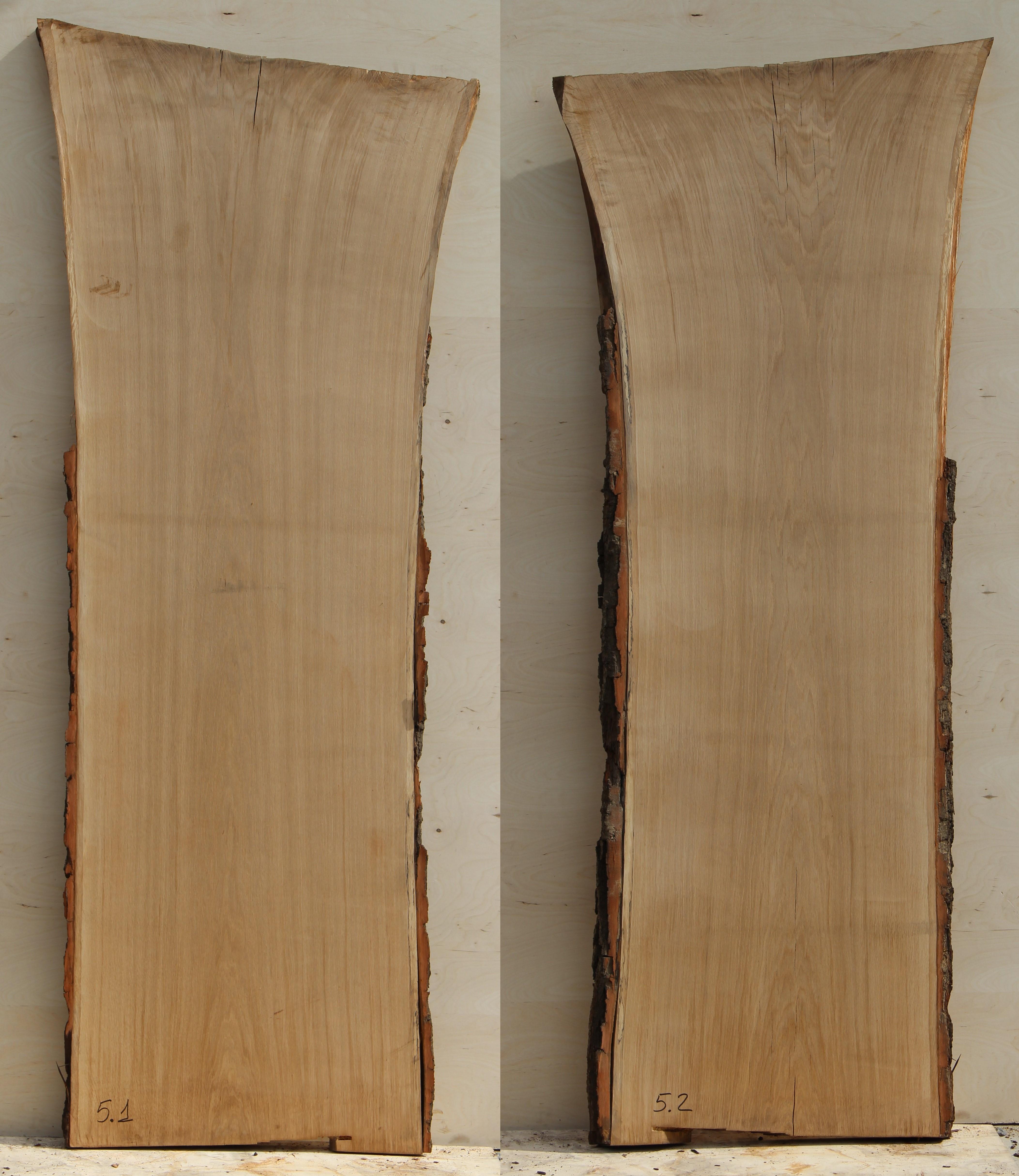 Слэбы (спилы) из Кавказского дуба под заказ 05
