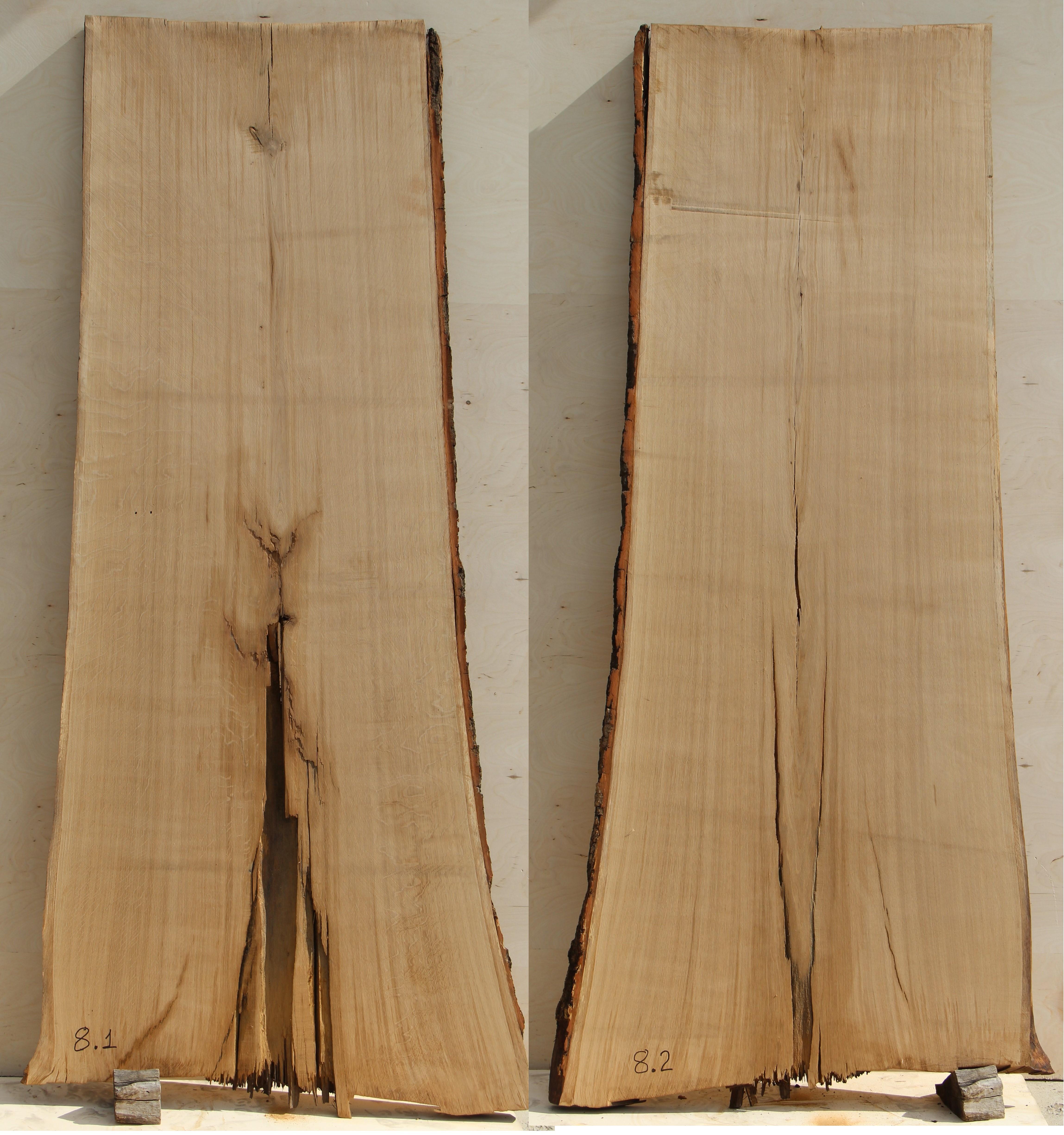 Слэбы (спилы) из Кавказского дуба под заказ 08